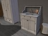 Dutchie mesh sink console: 11 animations and wearable items like hairbrush, toothbrush, razor, aftershave and lipstick
