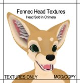 [Caek!] Fennec for Paws Fennec Head