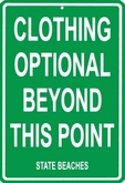 *SALE* Clothing Optional Poster