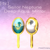 [ity.] Sailor Neptune Deep Aqua Mirror