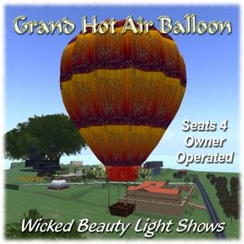 Grand Hot Air Balloon
