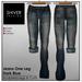 Shiver - Jeans One Leg Dark Blue - sculpted Leg & Cuffs