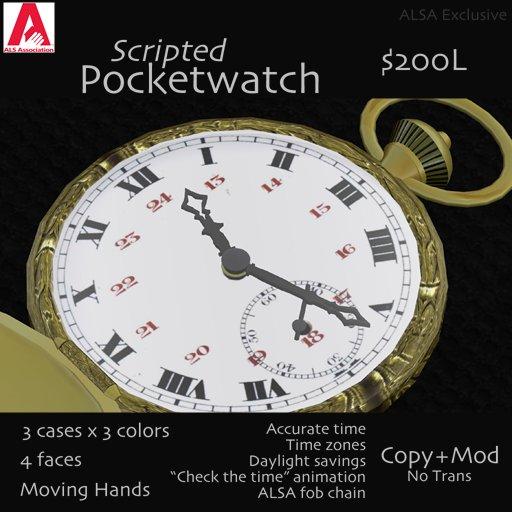 ALSA Pocketwatch