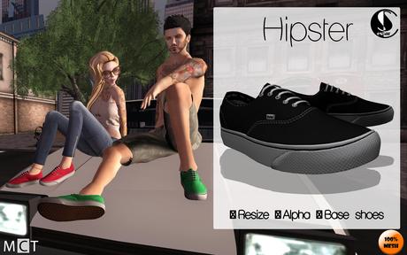.:: Hipster Sneakers ::. (Black)