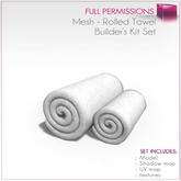Full Perm Mesh - Rolled Towel - Builder's Kit