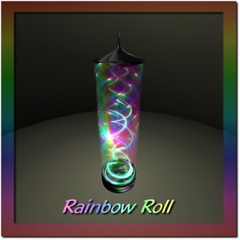 Rainbow Roll Pillar