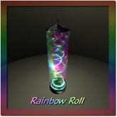 Rainbow Roll Pillar