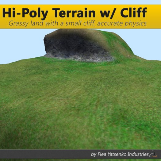 [FYI] Hi-Poly Mesh Terrain w/ Cliff 1.0.0 (copy/mod)