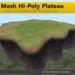 [FYI] Hi-Poly Mesh Terrain Plateau (copy/mod)