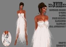 ::JIM:: Boudoir Dress White