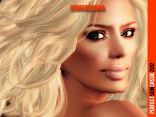 UOMO&DONNA: skin femme CASSIE full make up