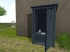 Dutchie mesh outhouse in blue: 3 animations and toilet paper roll