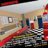 HORIZONS Scene - Roadside Diner