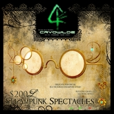:Steampunk Spectacles: - CRYOWILDE - by Khyle Sion at ~RW~