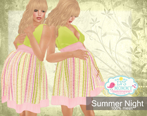 [LVS MOMMY] SUMMERS NIGHT  DRESS[MESH]