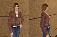 [LZ] Mesh Urban Female Dummy Avatar