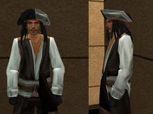[LZ] Pirate Mesh Dummy Avatar