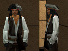 [LZ] Pirate Mesh Dummy Avatar C/M