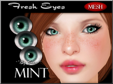 ~*By Snow*~ Fresh Eyes (Mint) w/MESH