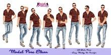 PURPLE POSE ETHAN - Male Poses