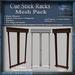 Cue Stick Racks Mesh Pack, Billiards 3D Model Accessories, Full Perm Mesh & Textures