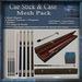 Cue Stick & Case Mesh Pack, Billiards 3D Model Accessories, Full Perm Mesh & Textures