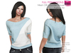 %50WINTERSALE RIGGED MESH Women's Female Ladies Casual Boat Neck Half Sleeve Casual Sweater Blouse Jumper T-shirt