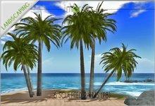 6 palms in 2 prims P9 COPY version