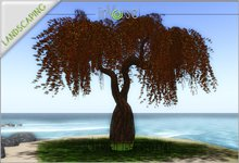 Sculpted tree T4 red COPY version