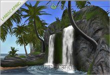 Sculpted Waterfall  W1 TRANSFER version
