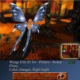 @ AC Boite ~petites~ Mesh avatar. Wings Elfe 02 CC V2