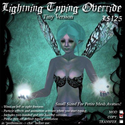 Lightning Typing Override (Tiny Version)