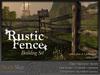 Skye rustic fence 3