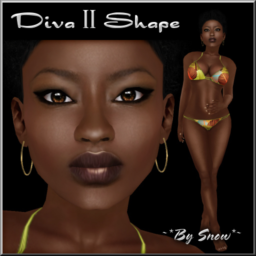 ~*By Snow*~ Diva II Shape