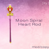 [ity.] Moon Spiral Heart Rod