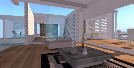 Designer Prims - A Place Less Ordinary, House, Home, Prefab