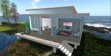 Designer Prims-Little Beach House, Prefab, House