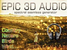 EPIC 3D AUDIO COUNTRYSIDE Authentic Nature sounds with Spectral 3D + long playing script