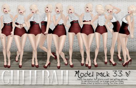 GLITTERATI - Model pack 33