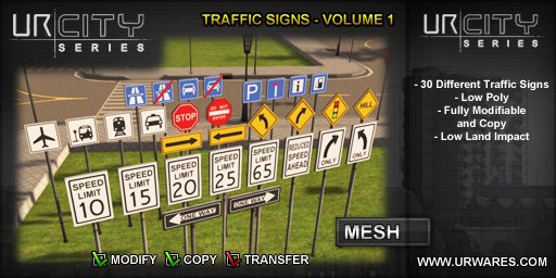 [URCS] Traffic Signs Volume 1
