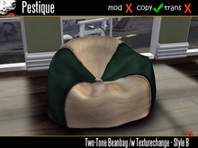 Two-Tone Beanbag Style A