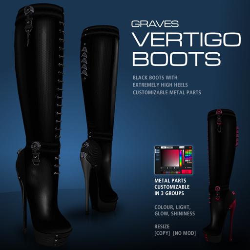 GRAVES Vertigo Boots