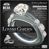 JCNY - Lover's Garden, 'Custom Engraving Edition, Wedding Rings