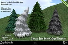 Schadenfreude Spruce Tree Super Mega Uberpack
