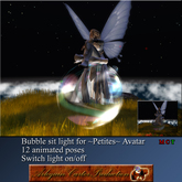 @ AC Bubble sit light for ~Petites~ Mesh Avatar