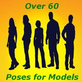60+ Model Poses & Animations