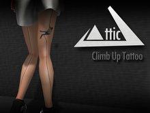 -ATTIC- Climbing Up Tattoo