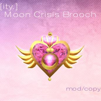 [ity.] Moon Crisis Brooch