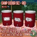 R(S)W Camp Water Cooler Set - Red