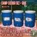R(S)W Camp Water Cooler Set - Blue
